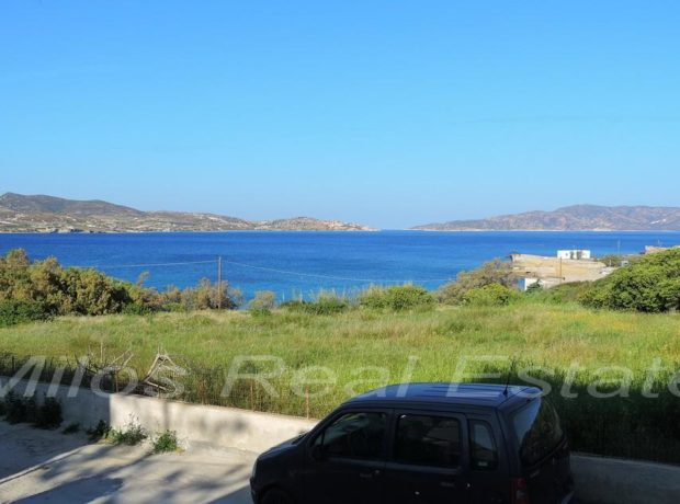 Sea side land for sale 1800 m2, Pollonia, Milos