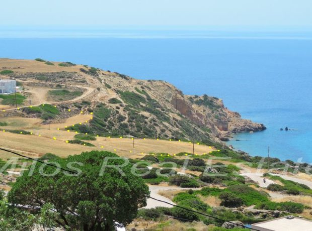 Two plots for sale, 9136 m2, Akrotiri, Milos