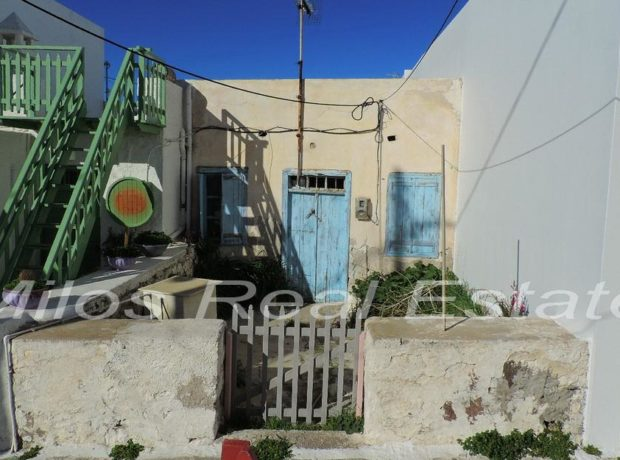 Traditional stone house for sale 61 m2, Plaka, Milos