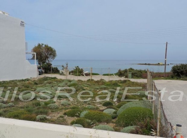 Sea side land for sale in Pollonia Pelekouda (300 m2)