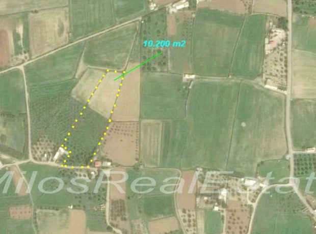 Land for sale 10.200 m2, Kampos, Milos