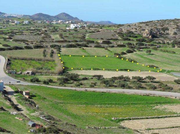 Agricultural land for sale (2 x 3.085 m2), Parasporos, Milos