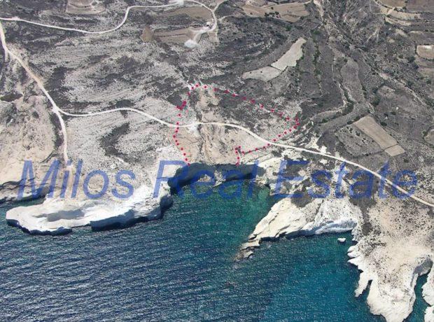 Plots for sale, Kaminia, Milos, 24.000 m2